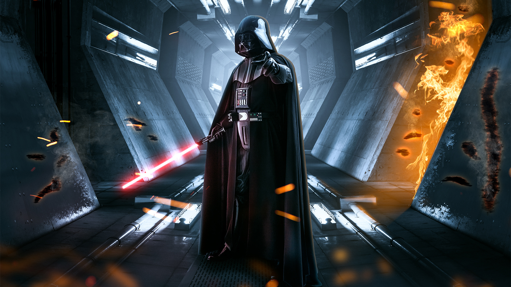 Star Wars Hd Wallpaper Background Image 2048x1152 Id 1003732 Wallpaper Abyss