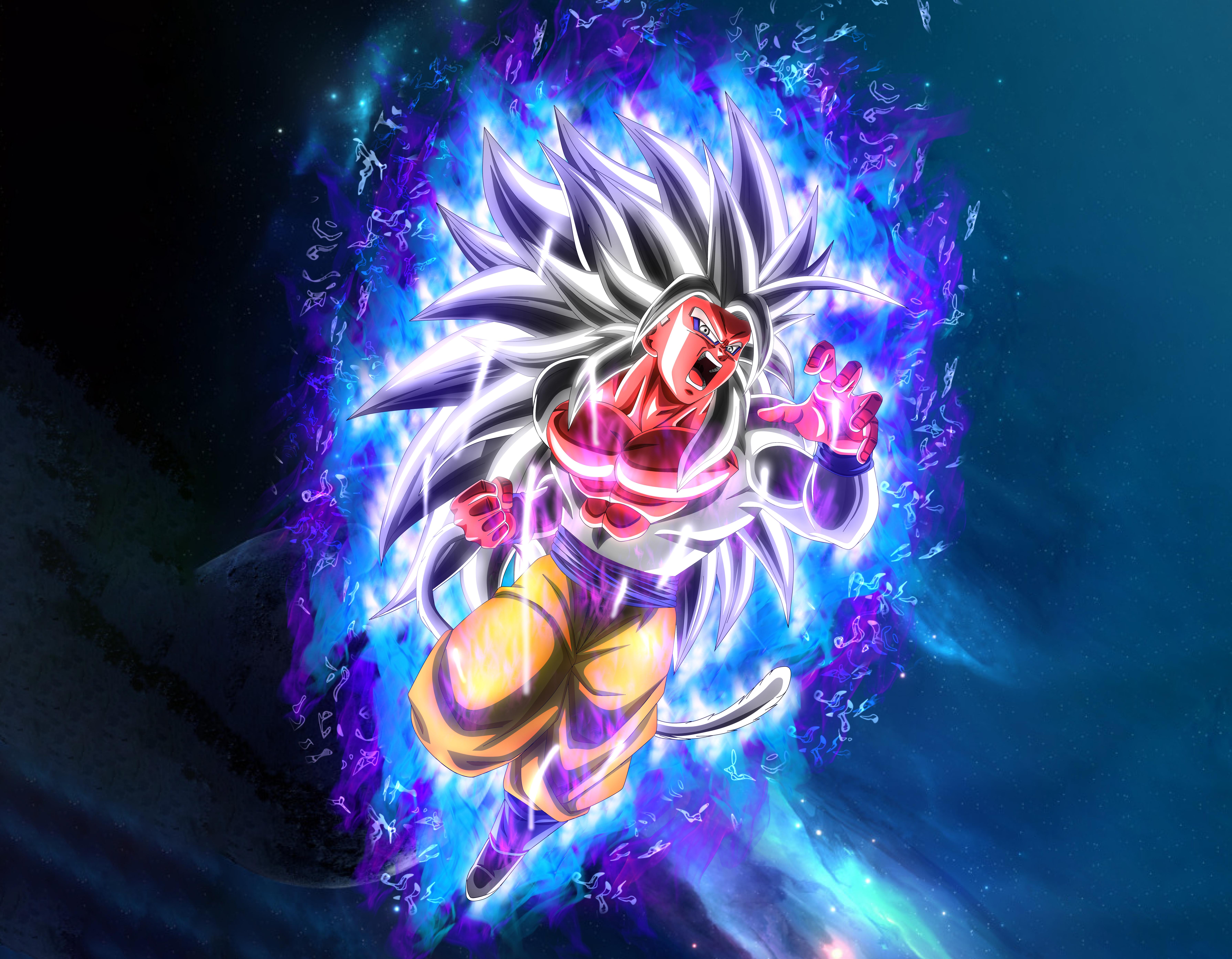 Goku Ssj5 5k Retina Ultra Fondo De Pantalla Hd Fondo De