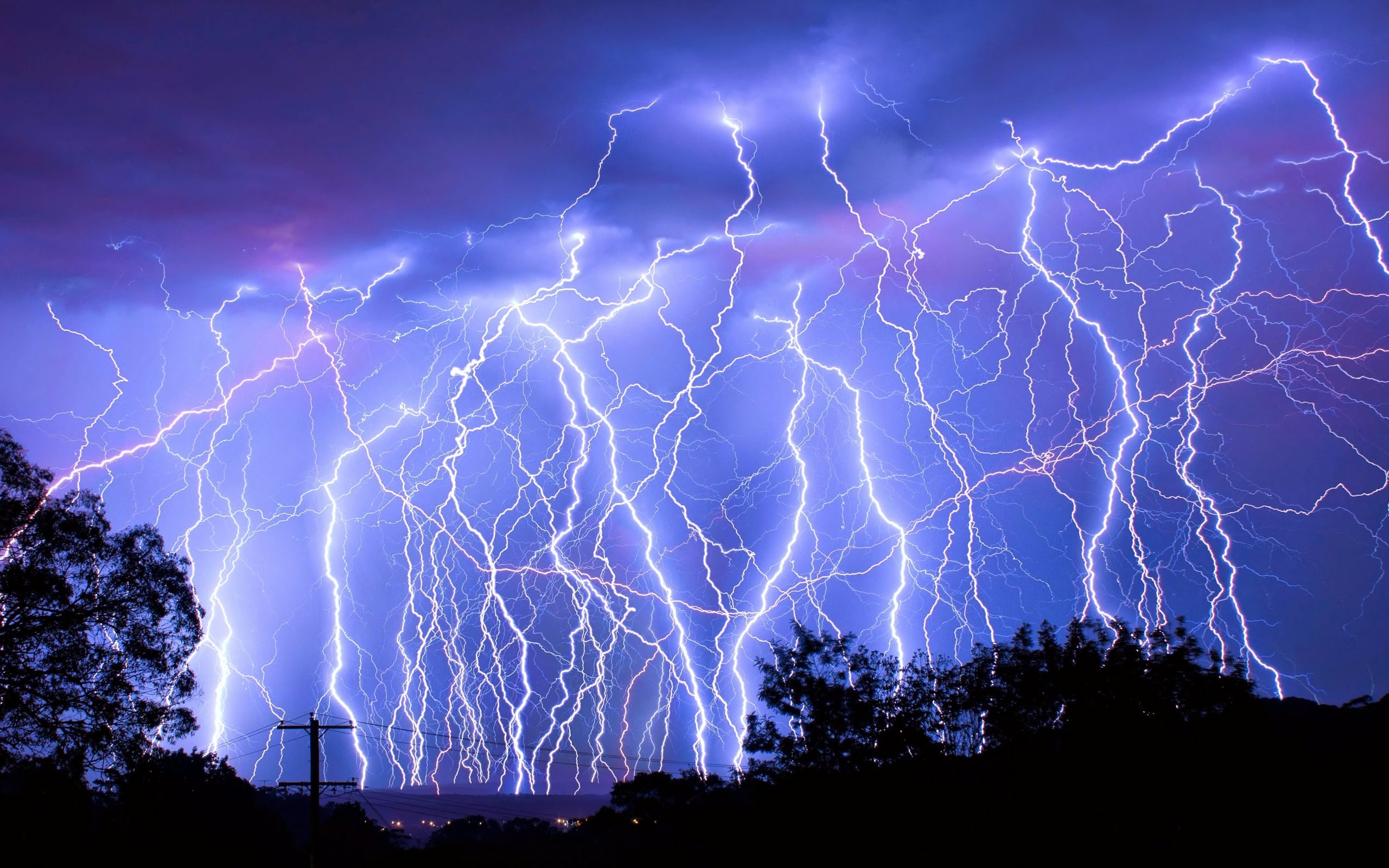 Lightning Storm Hd Wallpaper Background Image 2560x1600 Id 1007351 Wallpaper Abyss