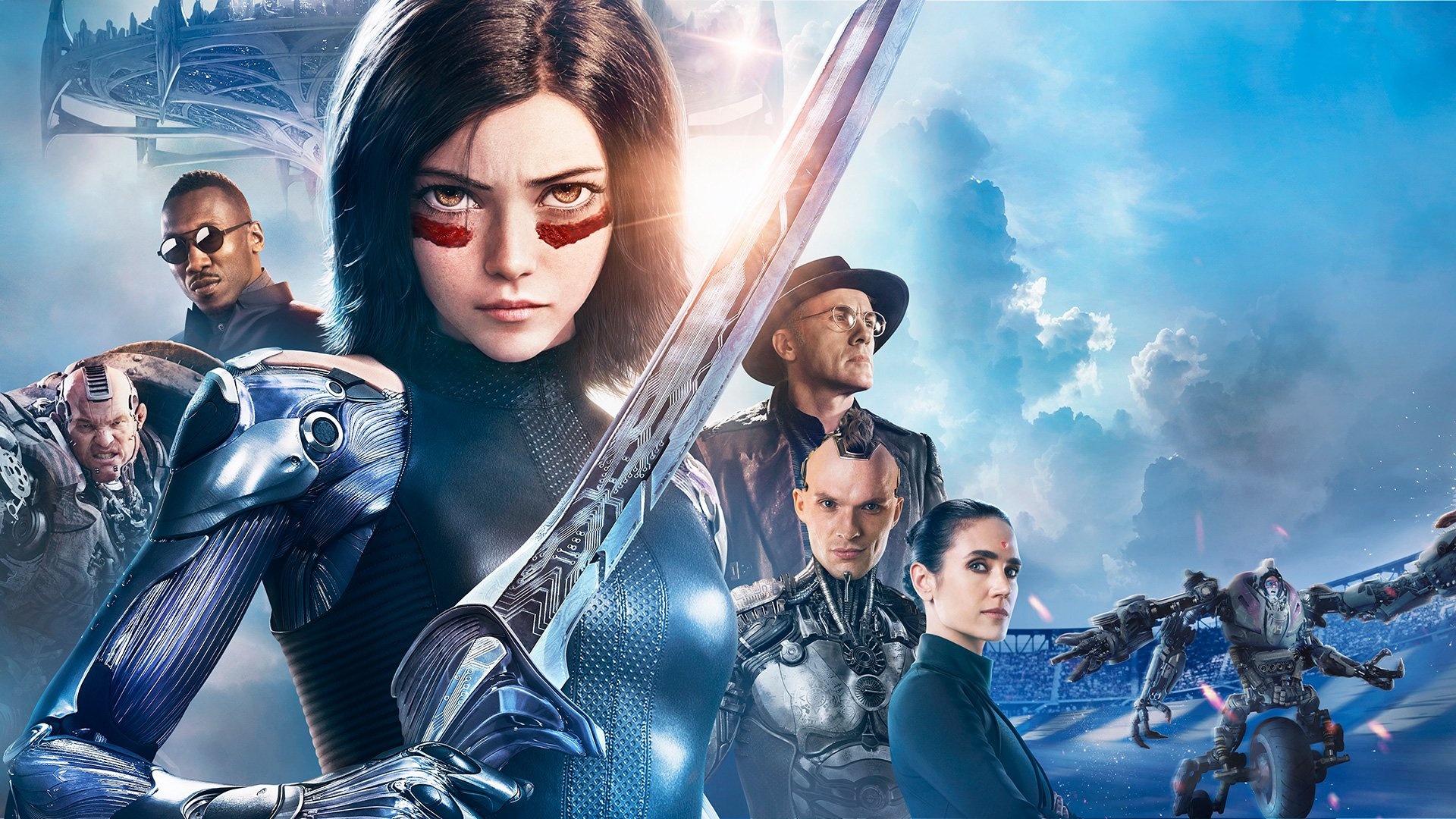 Alita Battle Angel Hd Wallpaper Background Image 1920x1080