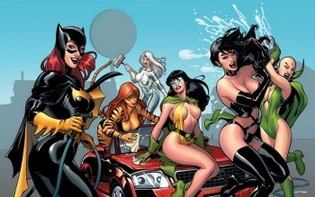 Comics - Gotham City Sirens Wallpapers and Backgrounds ID : 100047