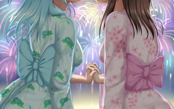 Anime BanG Dream! Girls Band Party! Kanon Matsubara Misaki Okusawa Yuri Fondo de pantalla HD | Fondo de Escritorio