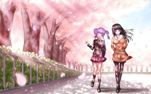 Anime BanG Dream! Girls Band Party! Ako Udagawa Rinko Shirokane HD Wallpaper | Background Image