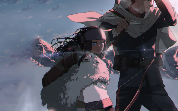 Anime Golden Kamuy Asirpa Sugimoto Saichi HD Wallpaper | Background Image