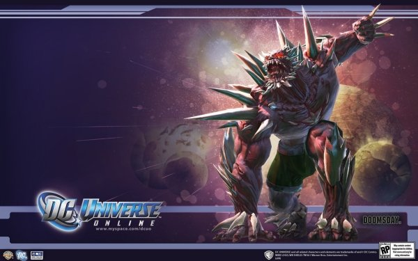 Video Game DC Universe Online Doomsday HD Wallpaper   Background Image