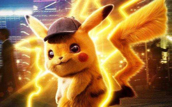 Film Pokémon : Détective Pikachu Pokémon Pikachu Fond d'écran HD | Arrière-Plan