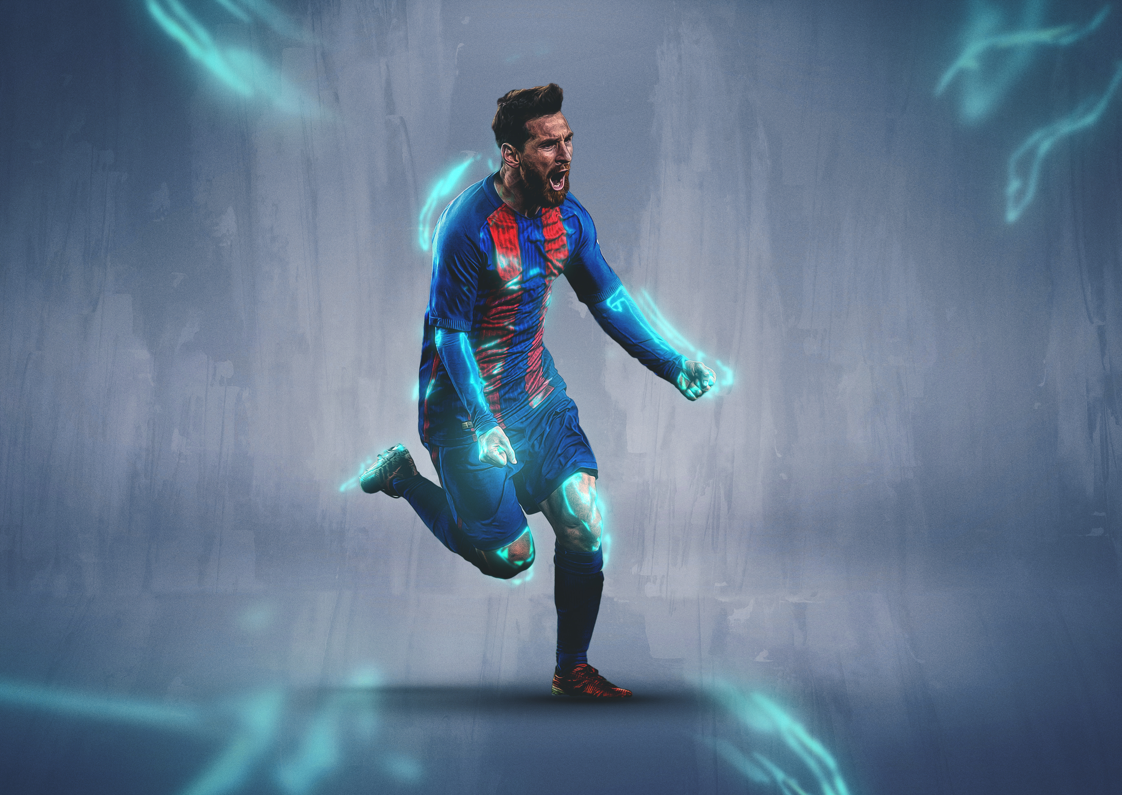 Lionel Messi 4k Ultra Hd Wallpaper Background Image 3840x2721 Id 1012919 Wallpaper Abyss