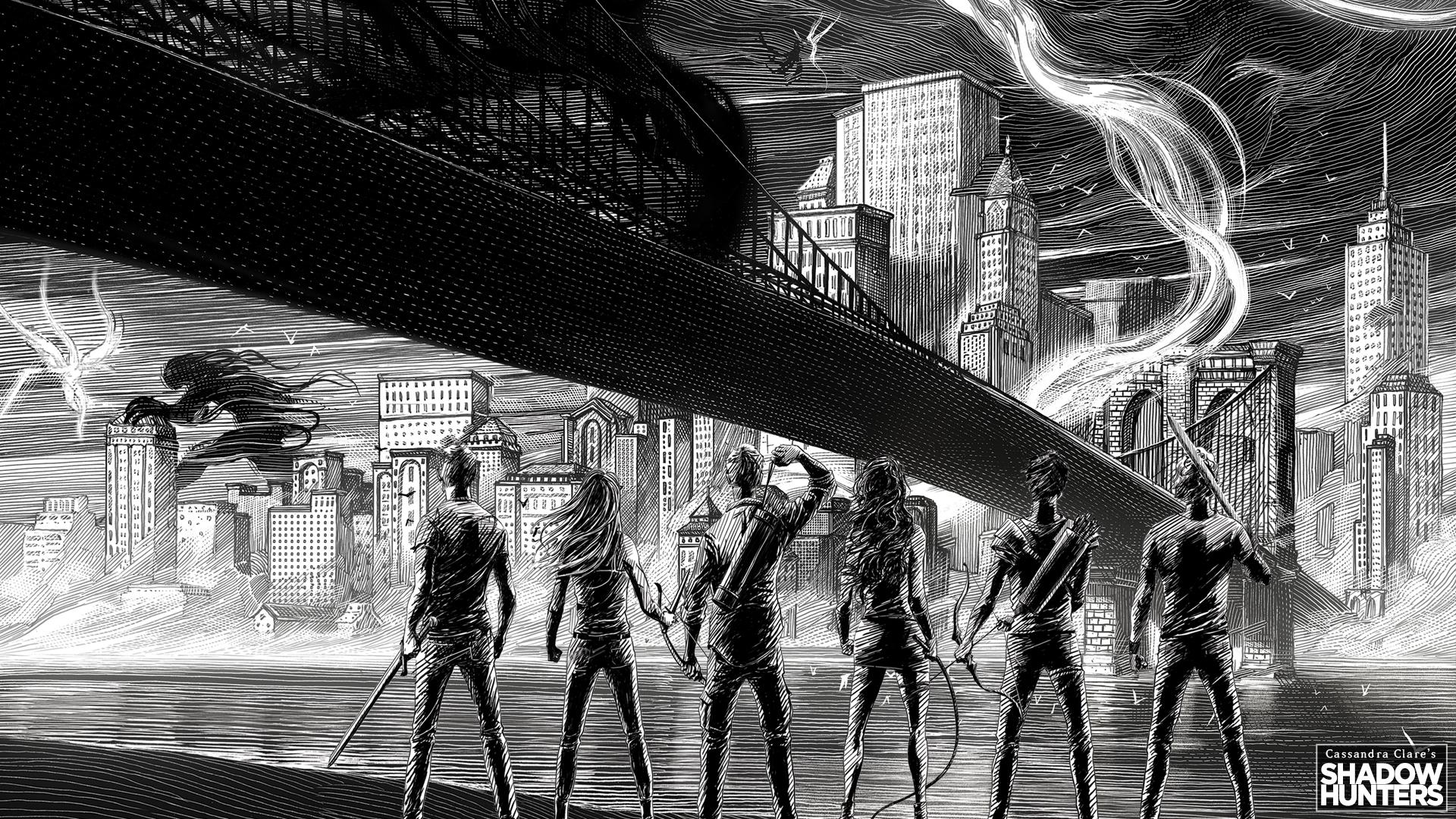 Shadowhunters Fondo De Pantalla Hd Fondo De Escritorio