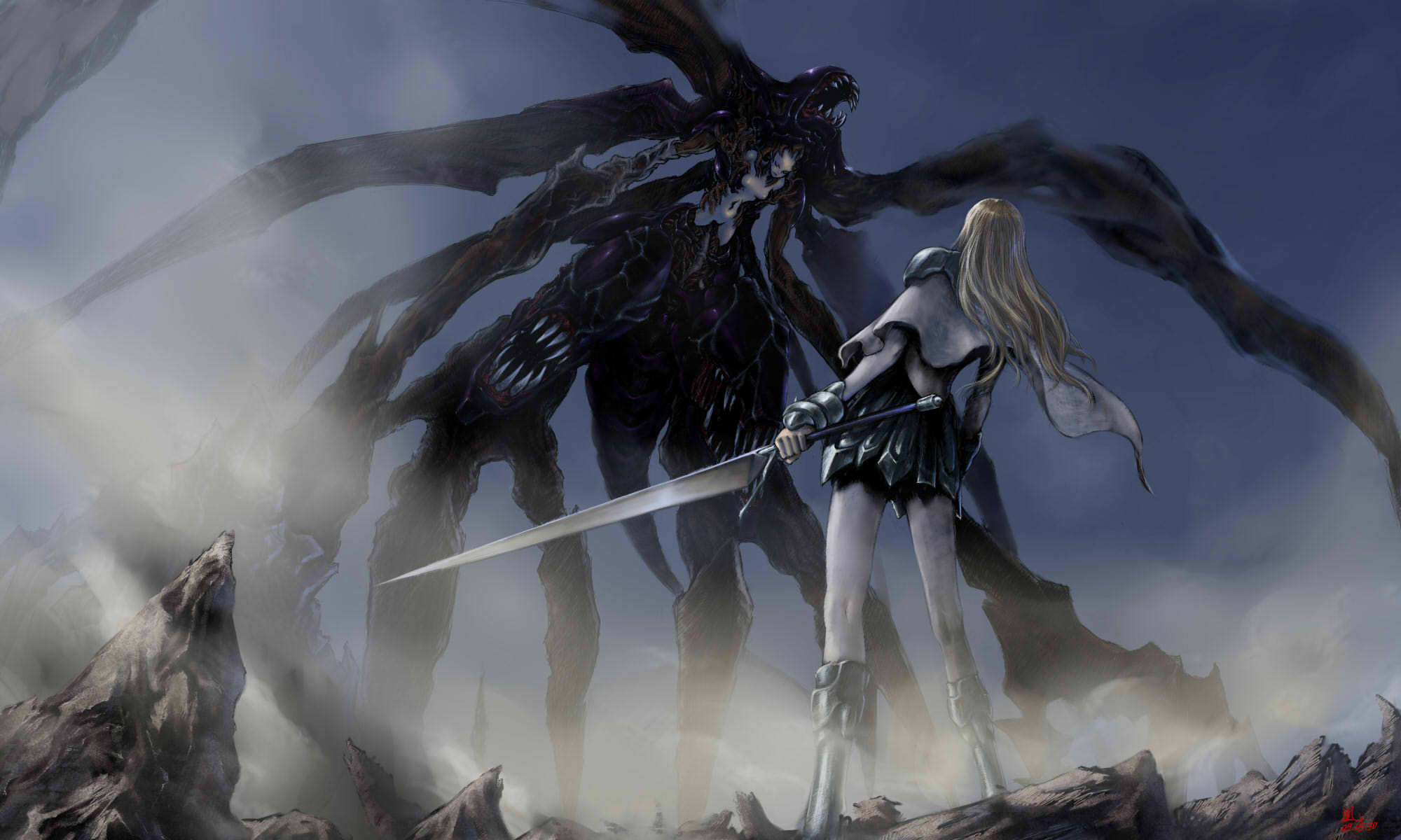 Claymore HD Wallpaper  Background Image  2000x1200  ID:101495  Wallpaper Abyss
