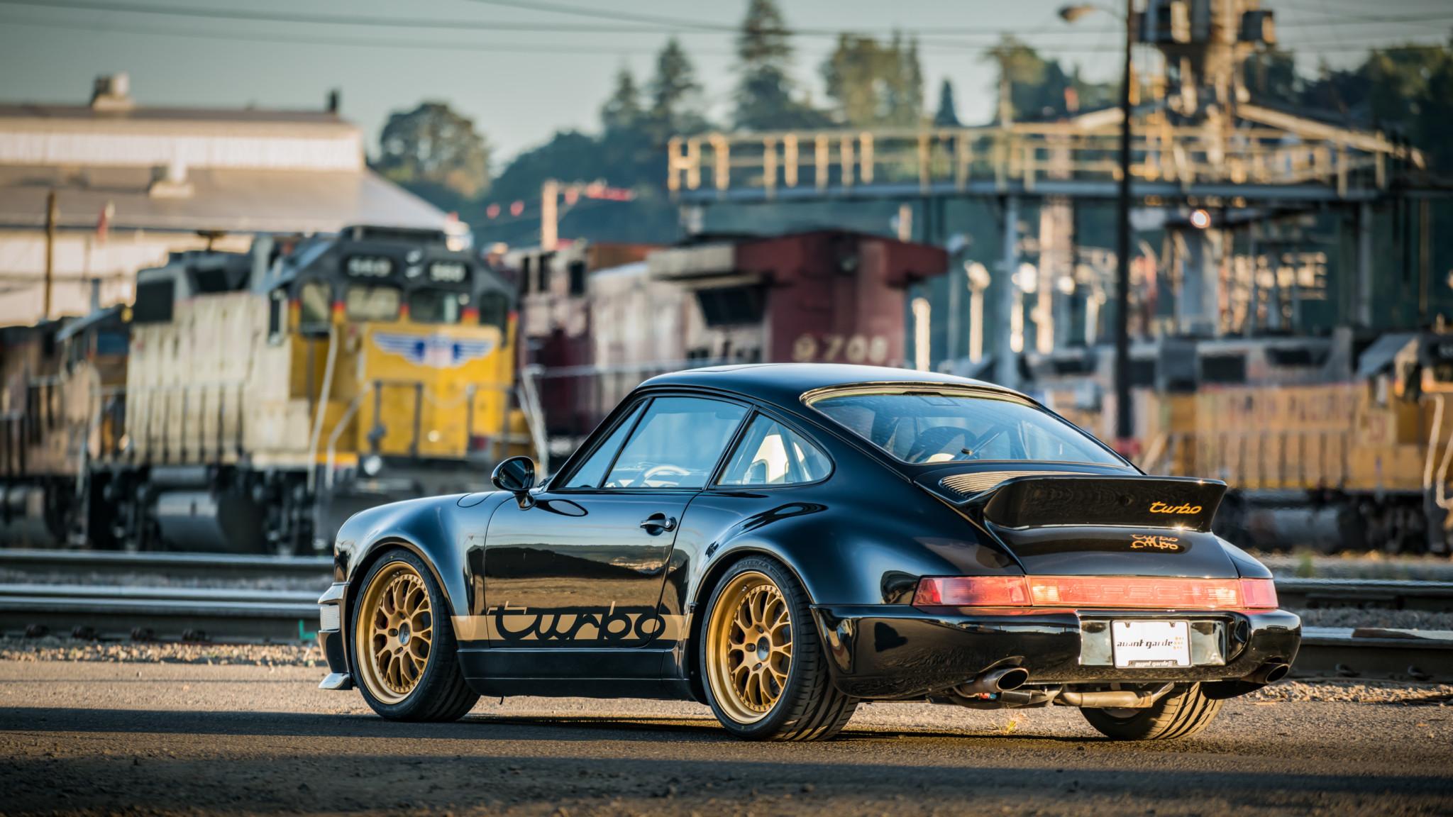 1991 Porsche 964 Turbo Fondo De Pantalla Hd Fondo De