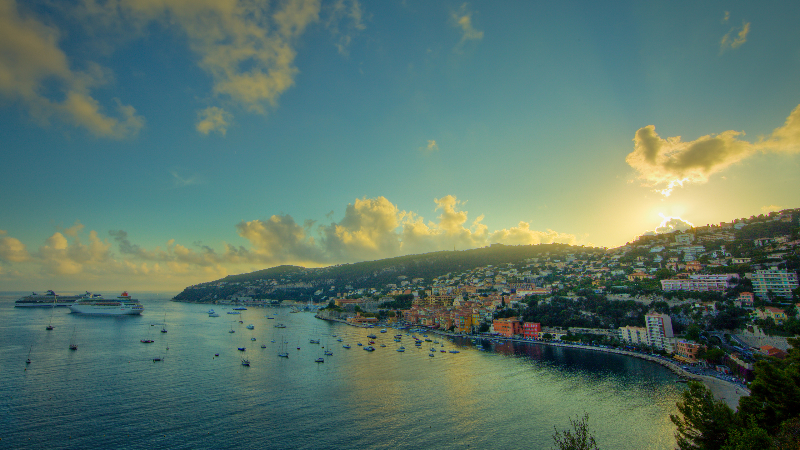 Cote D 39 Azur Full Hd Wallpaper And Background 2560x1440