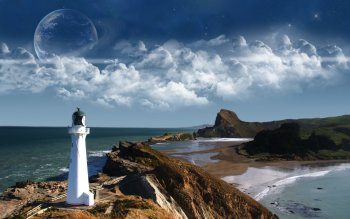 Man Made - Lighthouse Wallpapers and Backgrounds ID : 101759