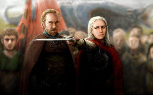 Fantasy A Song Of Ice And Fire Jorah Mormont Viserys Targaryen HD Wallpaper   Background Image