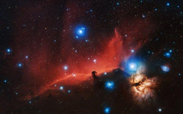 Sci Fi Nebula Space Stars Horsehead Nebula HD Wallpaper   Background Image