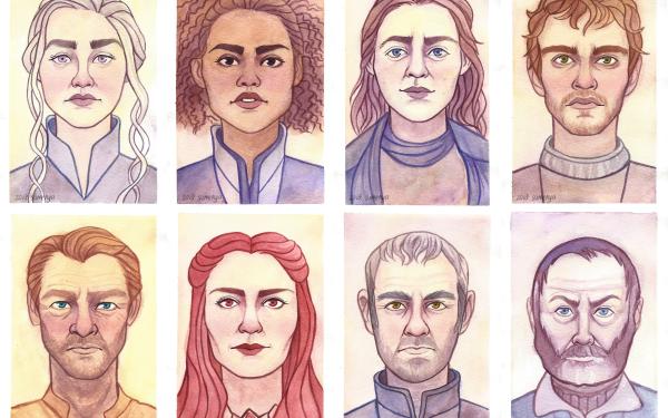 TV Show Game Of Thrones Daenerys Targaryen Missandei Yara Greyjoy Theon Greyjoy Jorah Mormont Melisandre Stannis Baratheon Davos Seaworth HD Wallpaper | Background Image