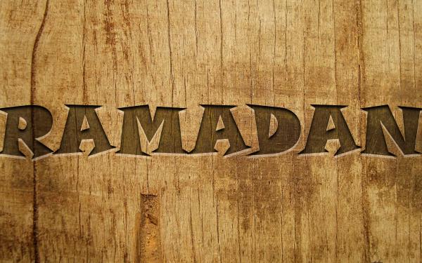 Religious Ramadan Islamic Word HD Wallpaper   Background Image