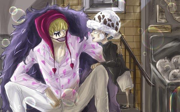 Anime One Piece Donquixote Corazon Donquixote Rosinante HD Wallpaper | Background Image