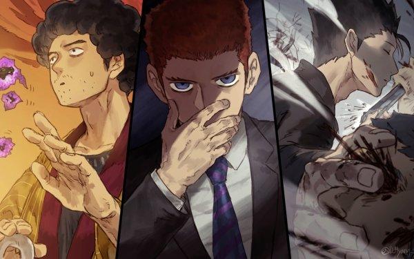 Anime Mob Psycho 100 Ryo Shimazaki Toichiro Suzuki Katsuya Serizawa HD Wallpaper | Background Image