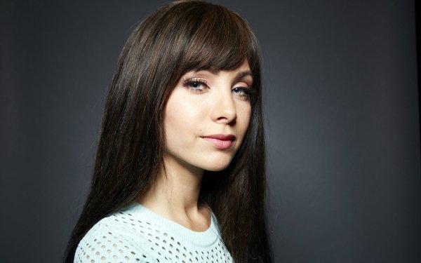 Celebrity Ksenia Solo Actresses Canada Actress Blue Eyes Black Hair Latvian HD Wallpaper | Background Image