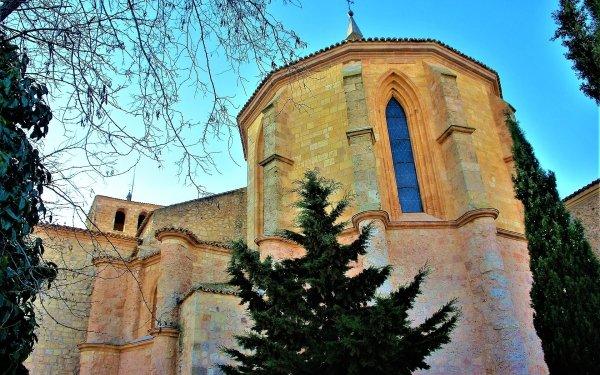 Religious Church Churches Architecture Cuenca Spain Castilla la Mancha Building HD Wallpaper | Background Image