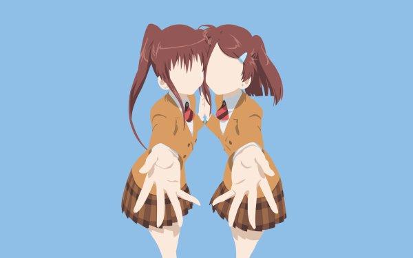 Anime Kiss×sis Ako Suminoe Riko Suminoe HD Wallpaper   Background Image