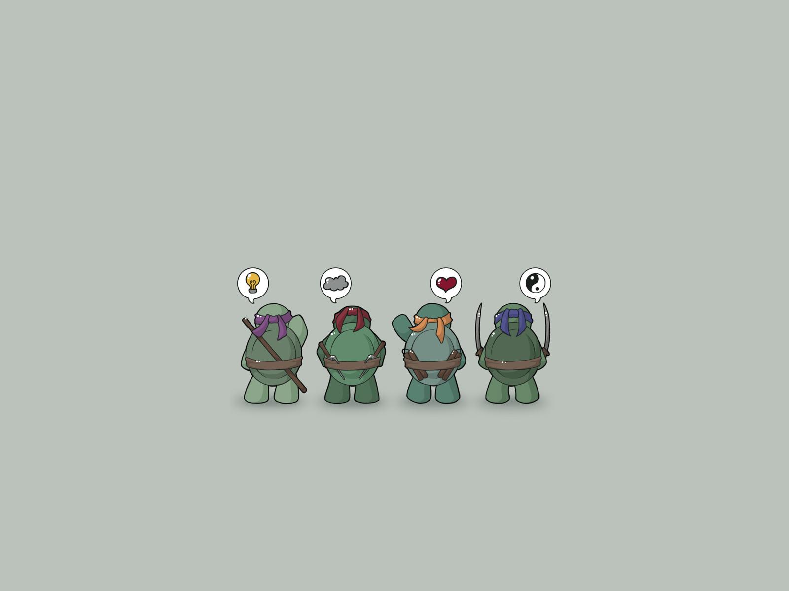 Комиксы - Черепашки-ниндзя  Обои