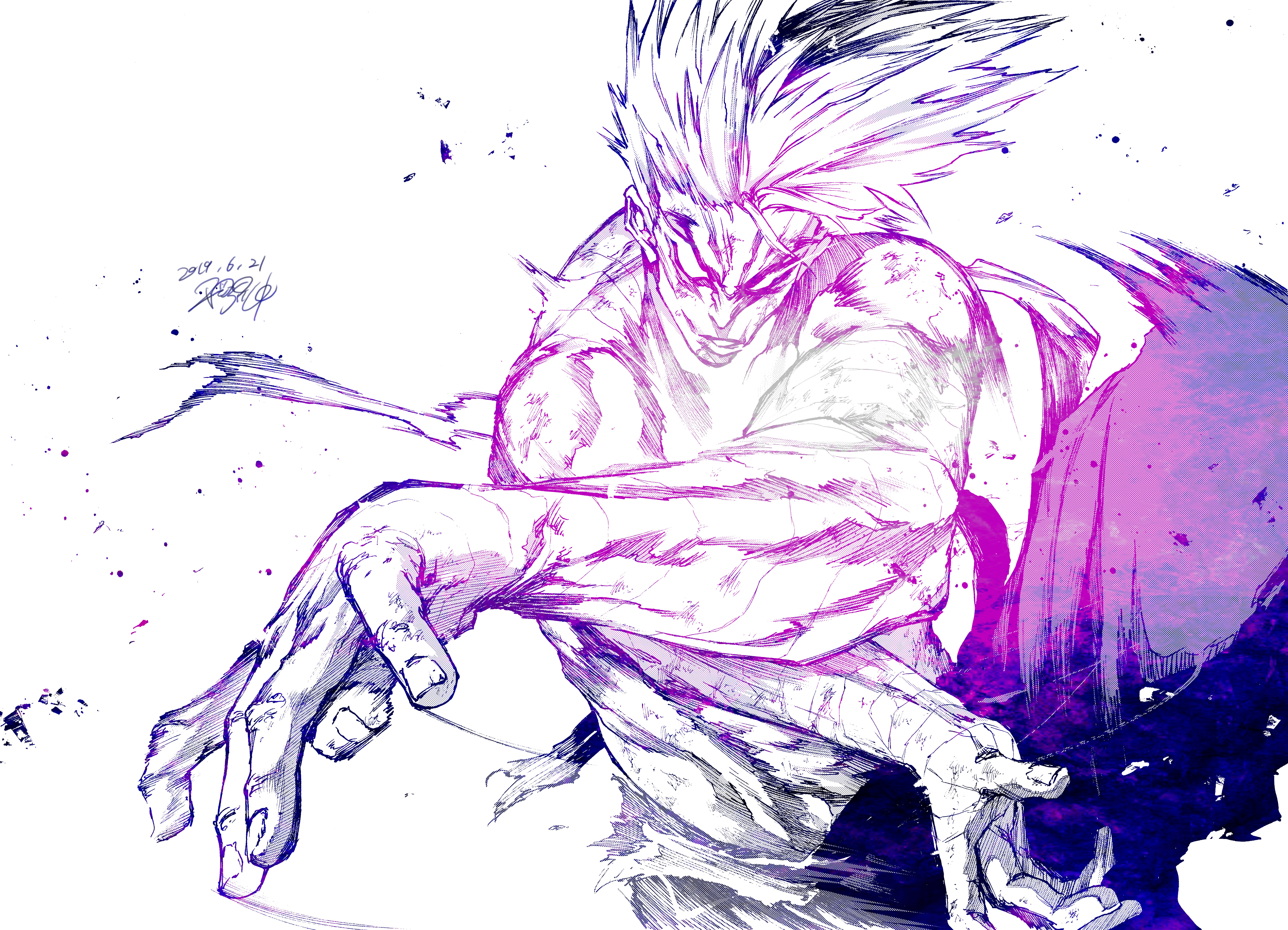 One Punch Man 8k Ultra Hd Wallpaper Background Image 8179x5906