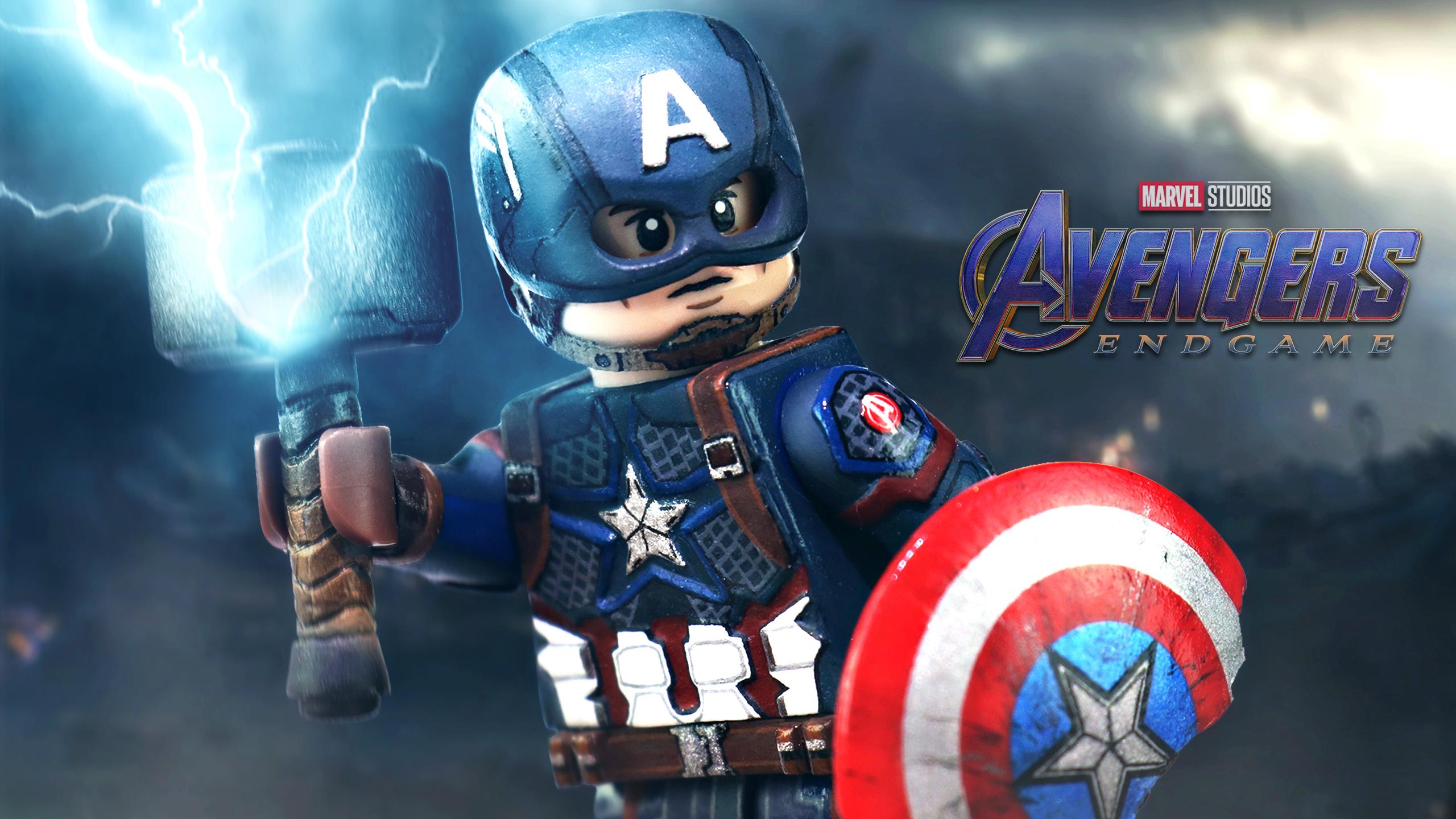 Lego Avengers Endgame Fondo De Pantalla Hd Fondo De