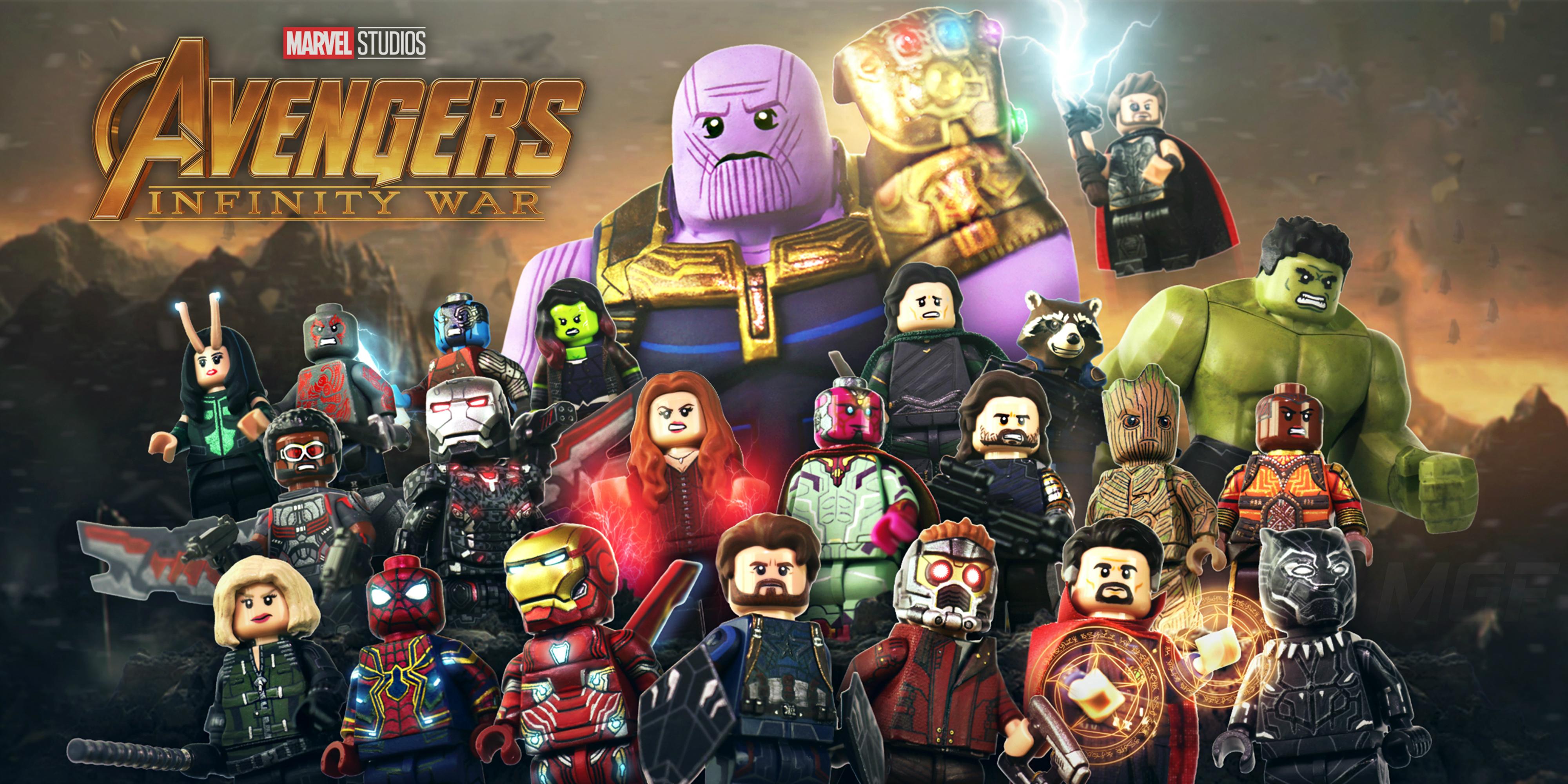 Lego Avengers Infinity War Fondo De Pantalla Hd Fondo De