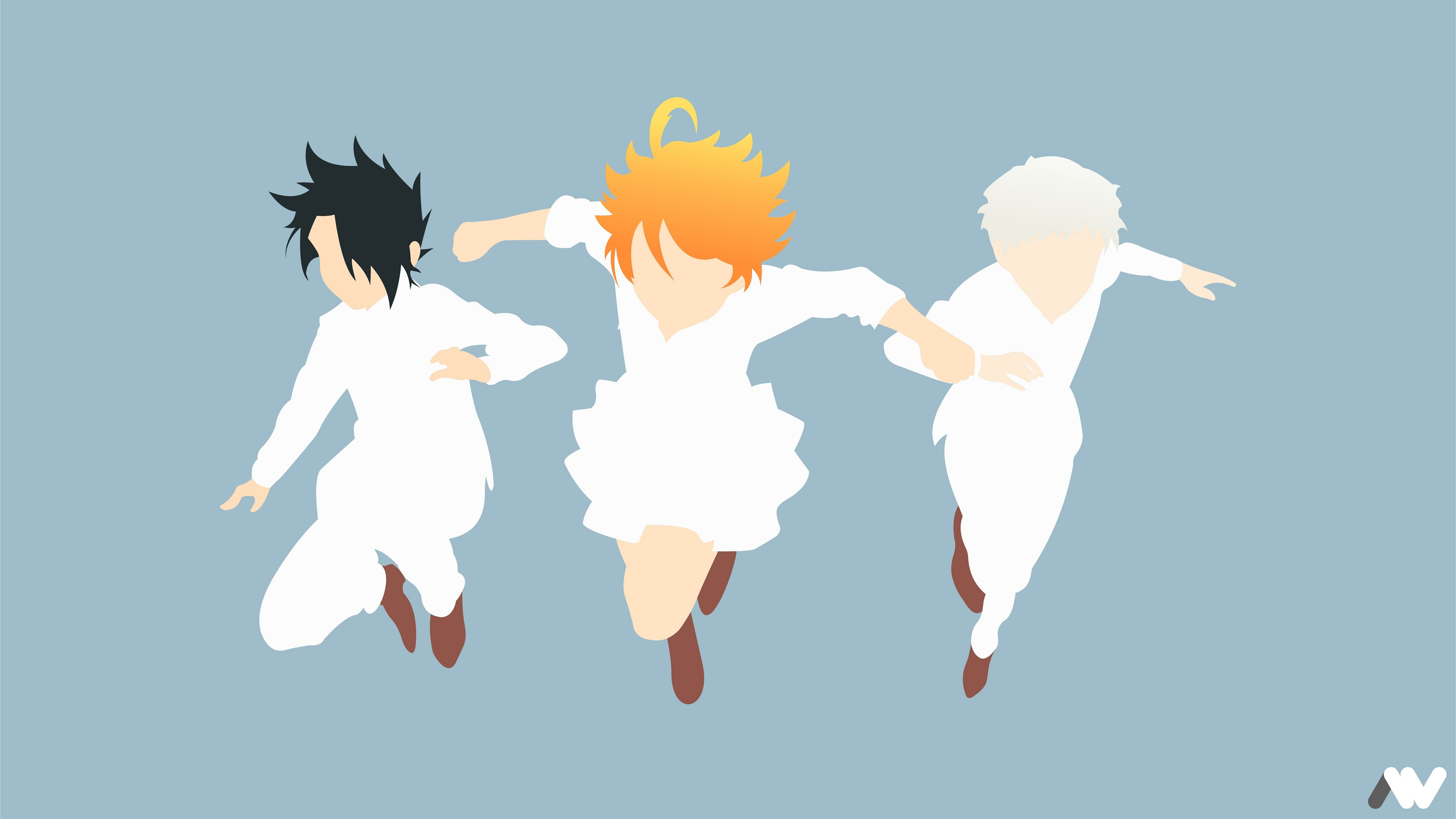 The Promised Neverland 4k Ultra Hd Wallpaper Background Image
