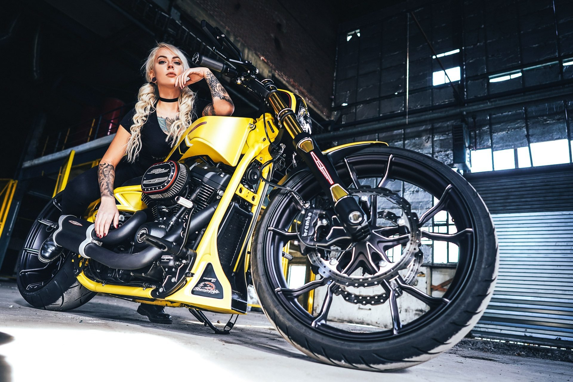 Silverstone customized Thunderbike Harley-Davidson Breakout HD