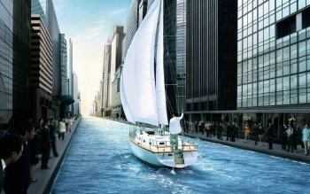 CGI - City Wallpapers and Backgrounds ID : 102107