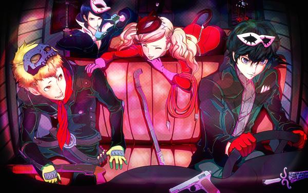 Video Game Persona 5 Persona Ryuji Sakamoto Joker Ann Takamaki Yusuke Kitagawa HD Wallpaper | Background Image