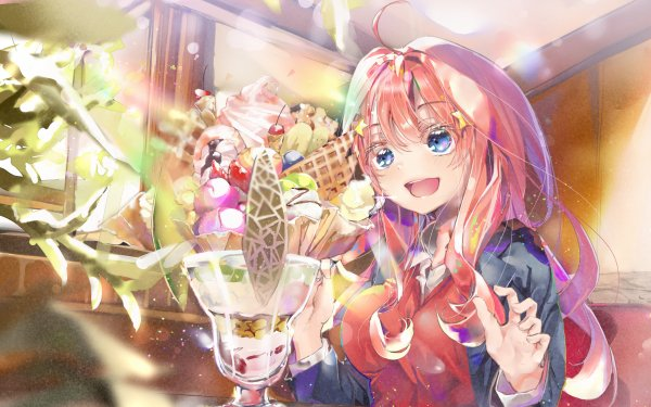 Anime The Quintessential Quintuplets Itsuki Nakano HD Wallpaper | Background Image