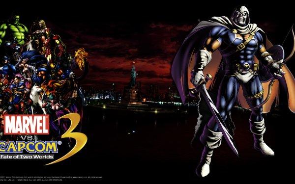 Video Game Marvel vs. Capcom 3: Fate of Two Worlds Marvel vs. Capcom Captain America Hulk Iron Man Wolverine Taskmaster Amaterasu HD Wallpaper | Background Image
