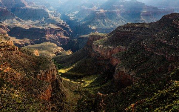 Earth Canyon Canyons Nature USA Mountain HD Wallpaper | Background Image