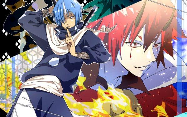 Anime That Time I Got Reincarnated as a Slime Souei Benimaru HD Wallpaper | Background Image