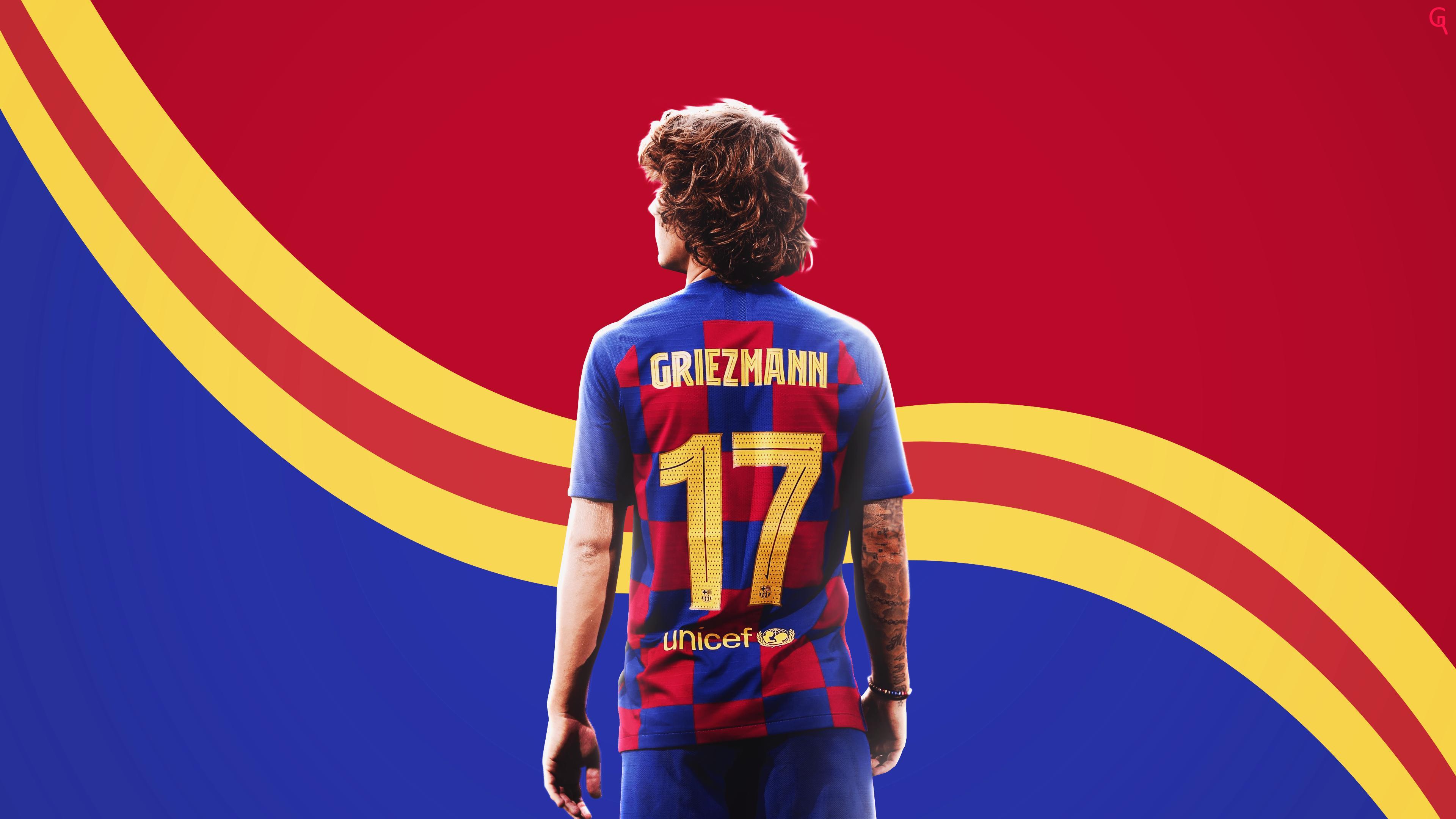 Antoine Griezmann 4k Ultra Hd Wallpaper Background Image