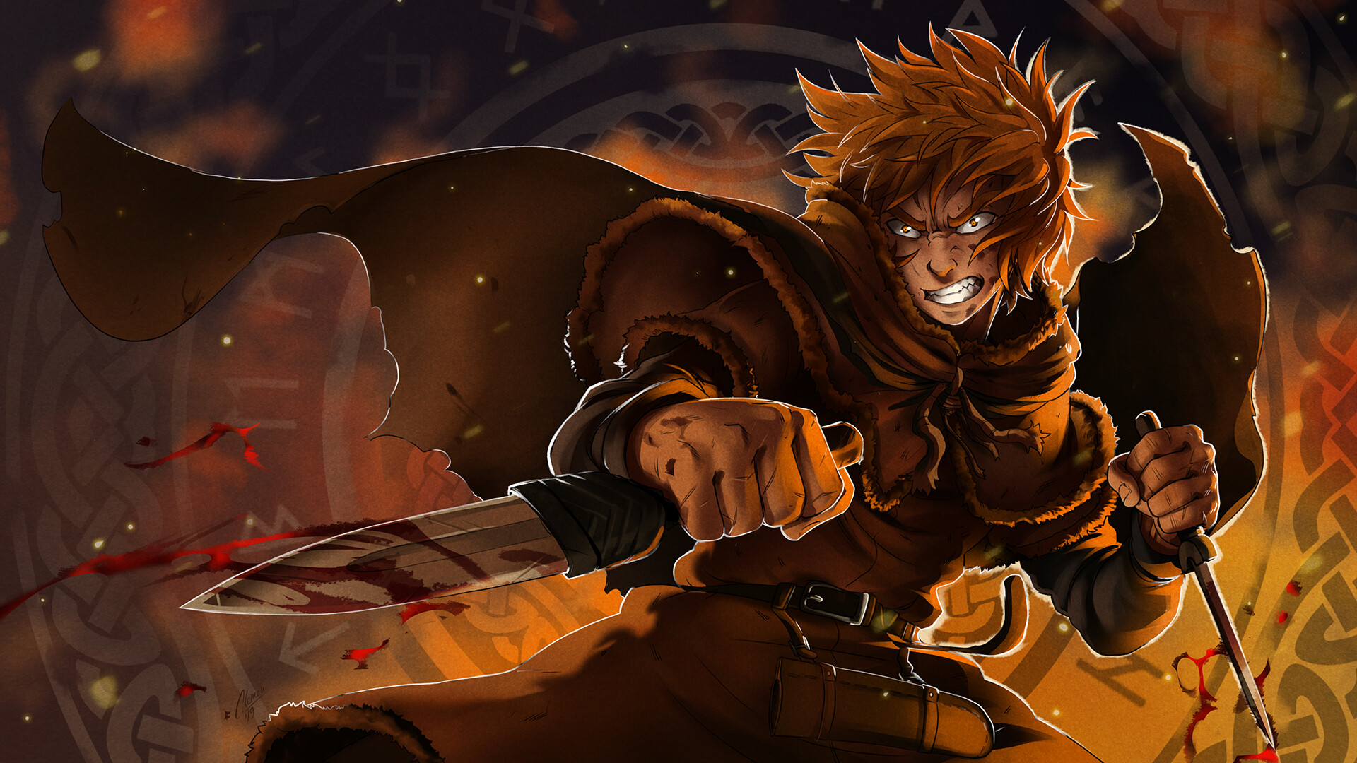 Vinland Saga Hd Wallpaper Background Image 1920x1080 Id 1031843 Wallpaper Abyss