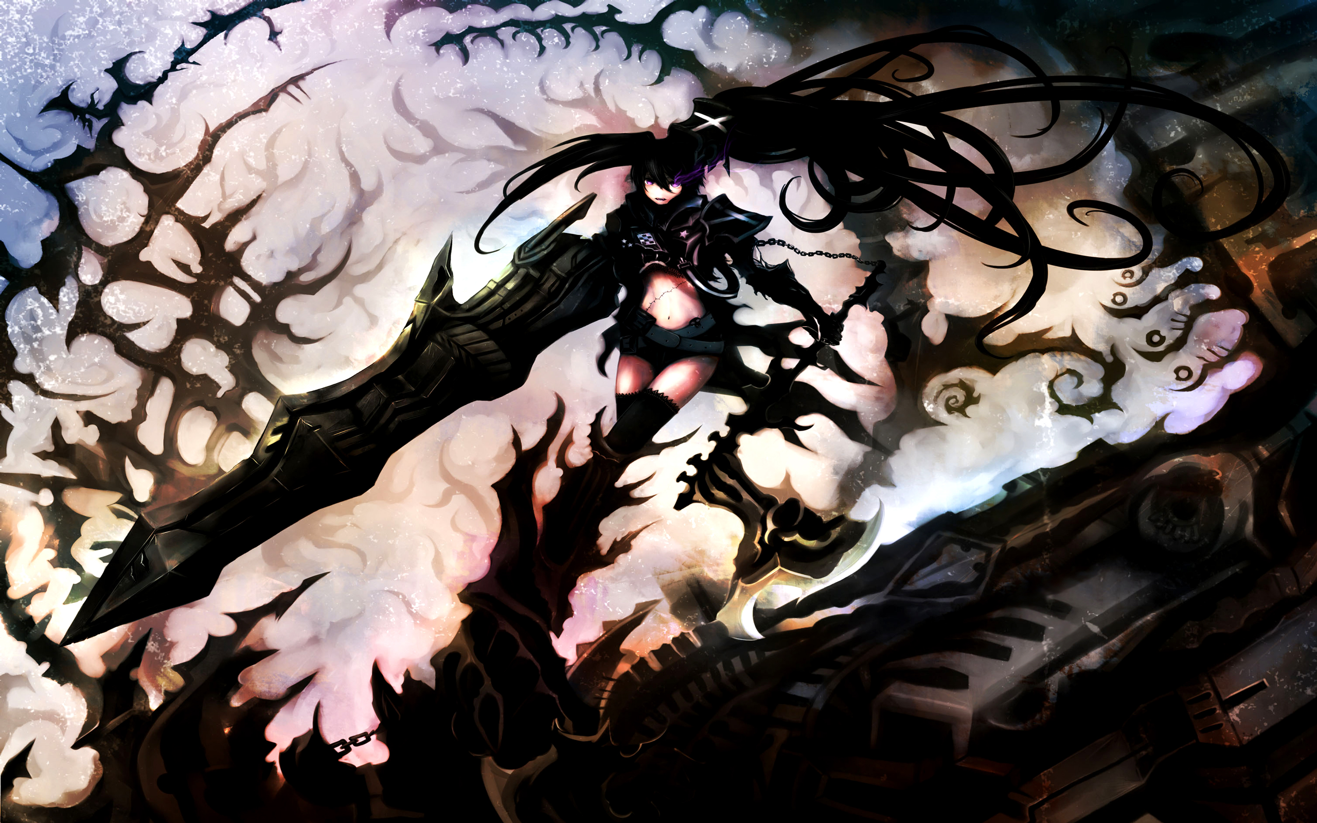 Anime - Black Rock Shooter  - Insane Black Rock Shooter Fondo de Pantalla