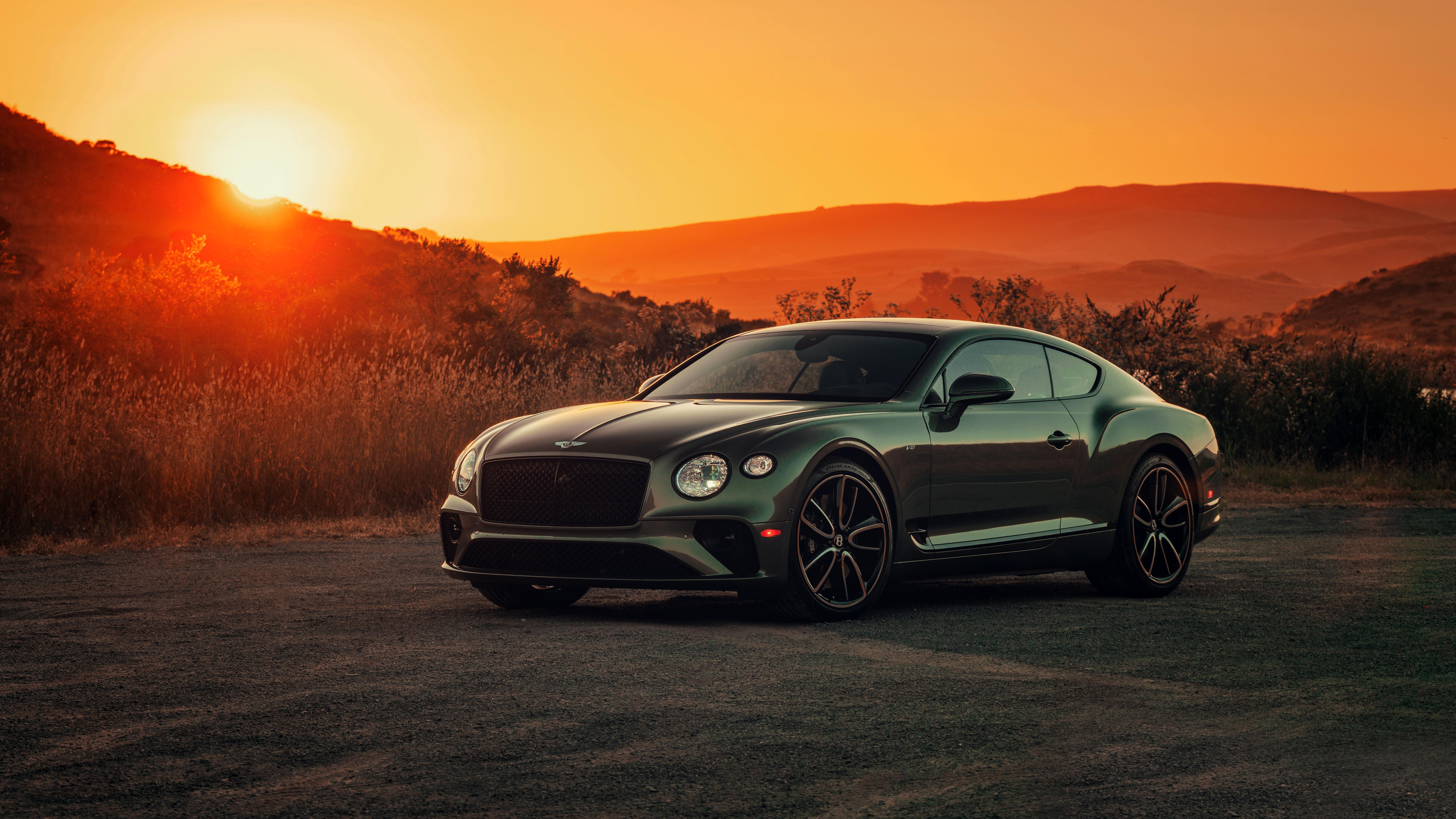 Bentley Continental Gt V8 8k Ultra Hd Wallpaper Hintergrund 7680x4320
