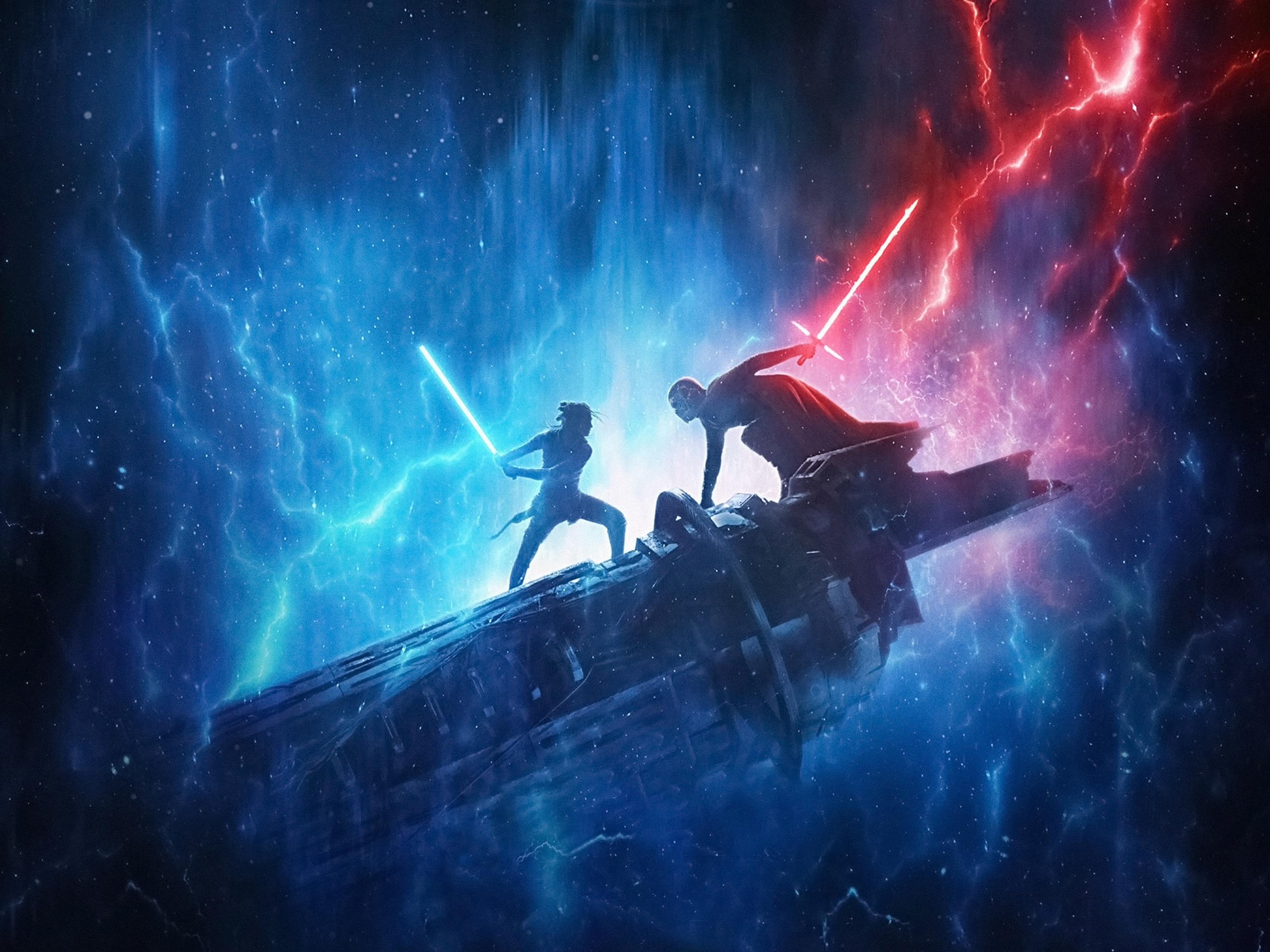 Star Wars The Rise Of Skywalker Fondo De Pantalla Hd