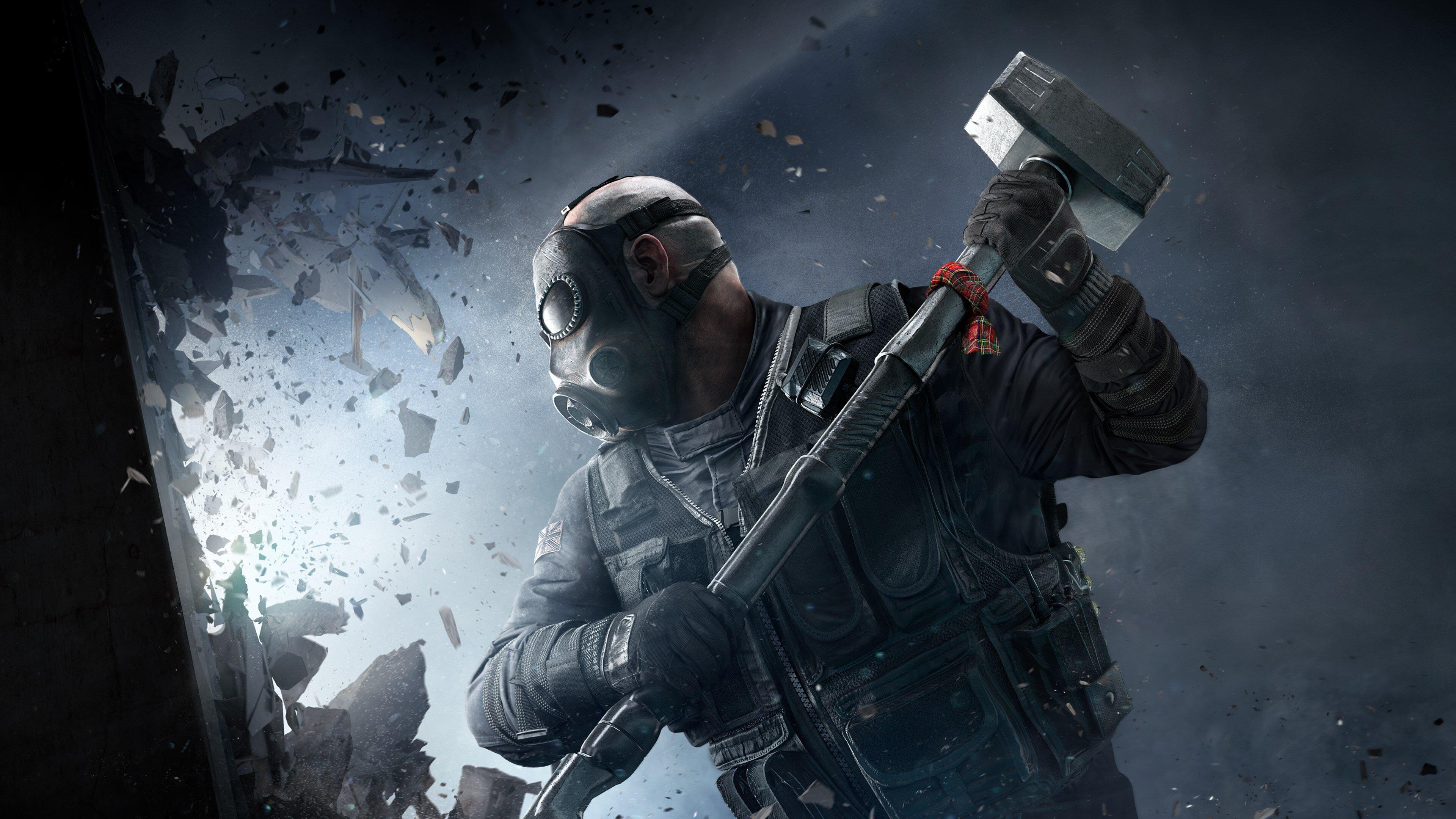 Tom Clancy S Rainbow Six Siege 4k Ultra Hd Wallpaper Background