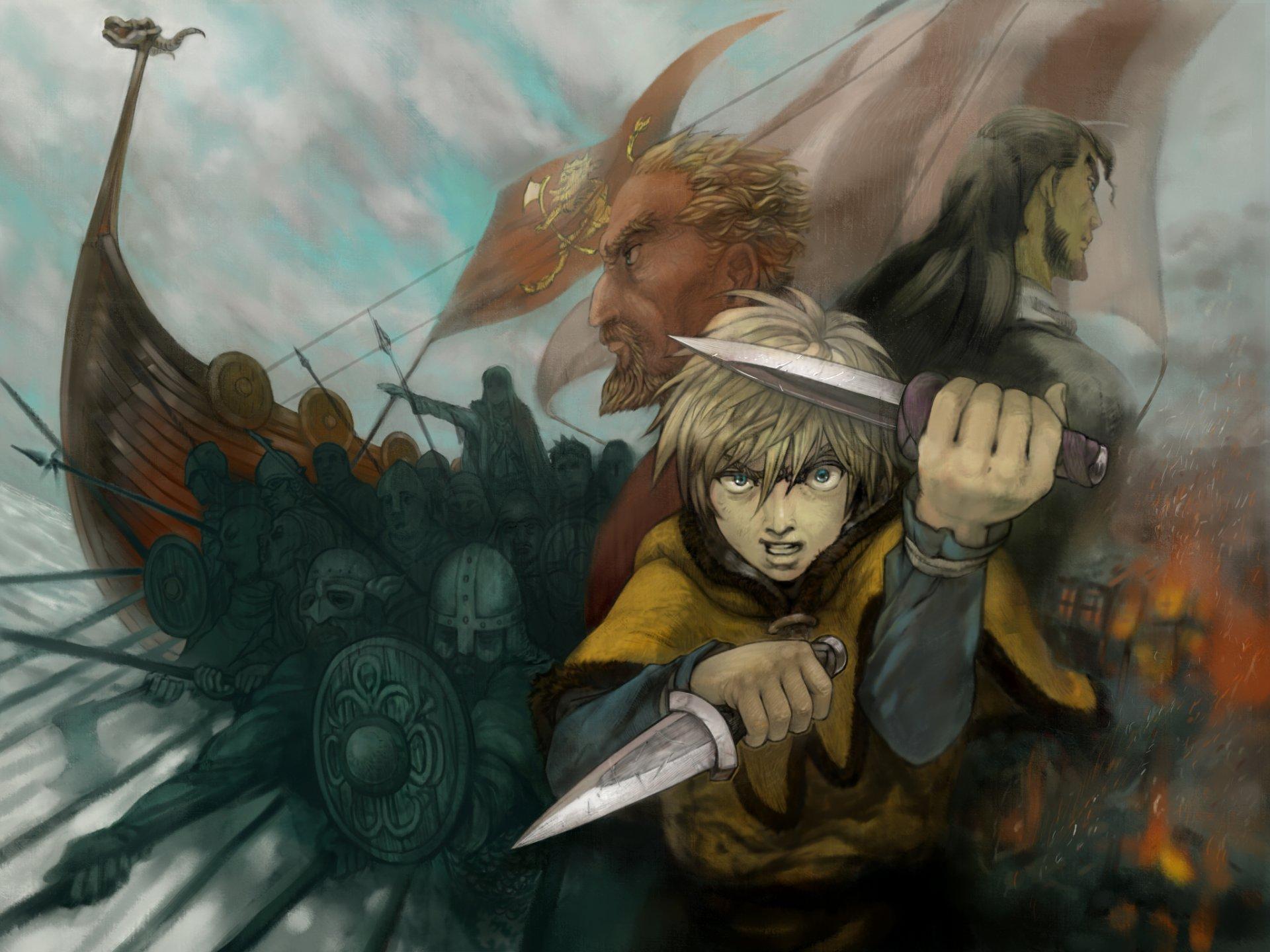 Vinland Saga HD Wallpaper   Background Image   2048x1536 ...