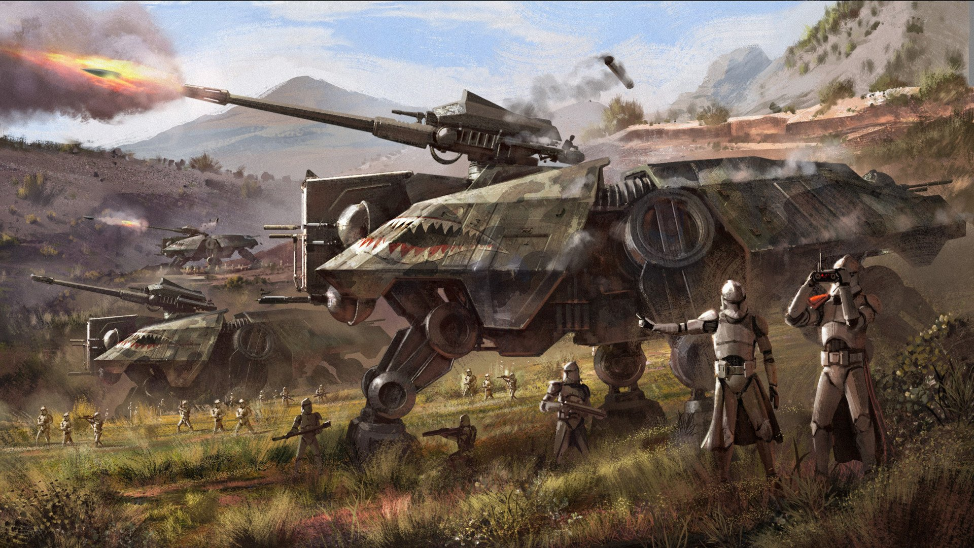 Heavy Artillery At Te Hd Wallpaper Background Image 1920x1080 Id 1033111 Wallpaper Abyss