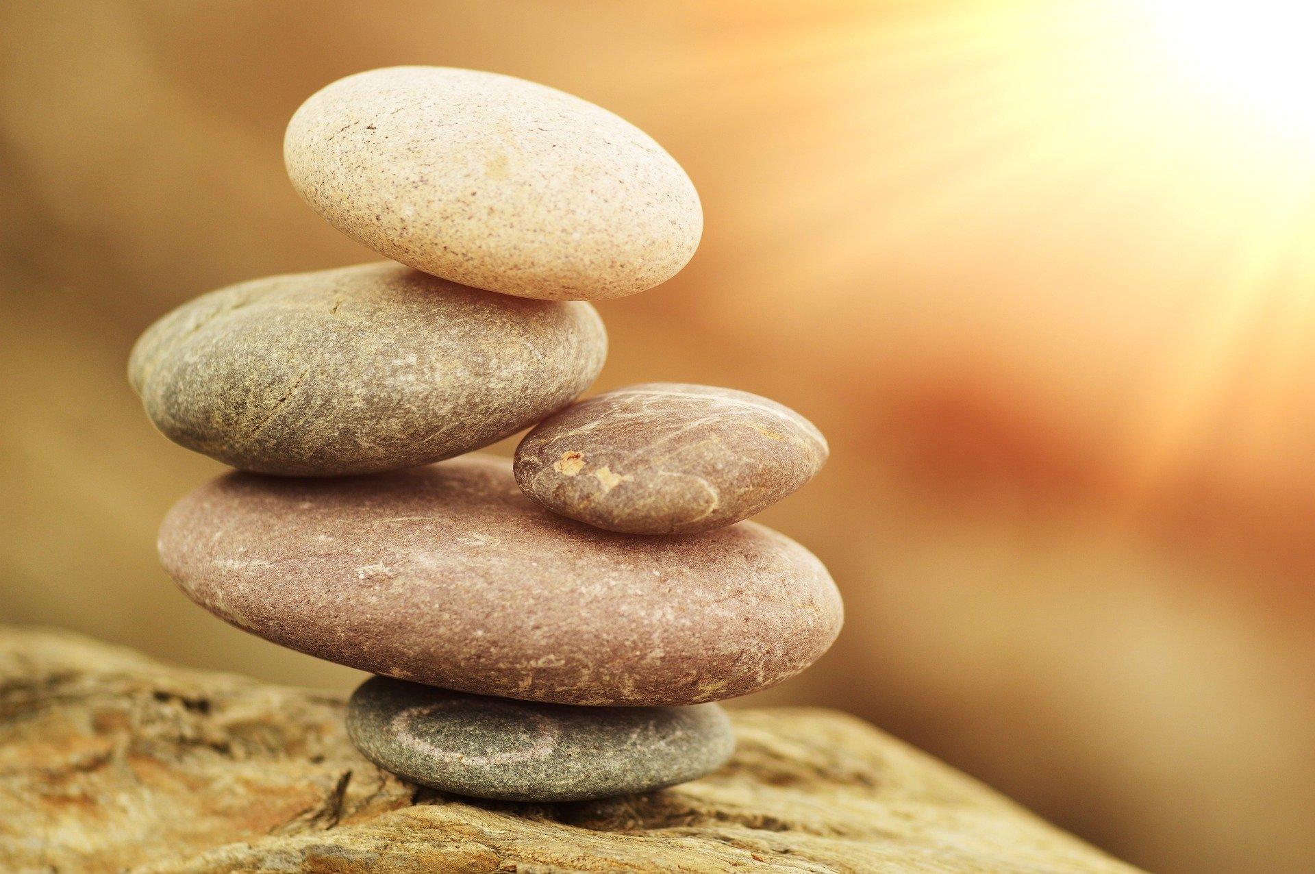 Stack Of Zen Stones Fondo De Pantalla Hd Fondo De