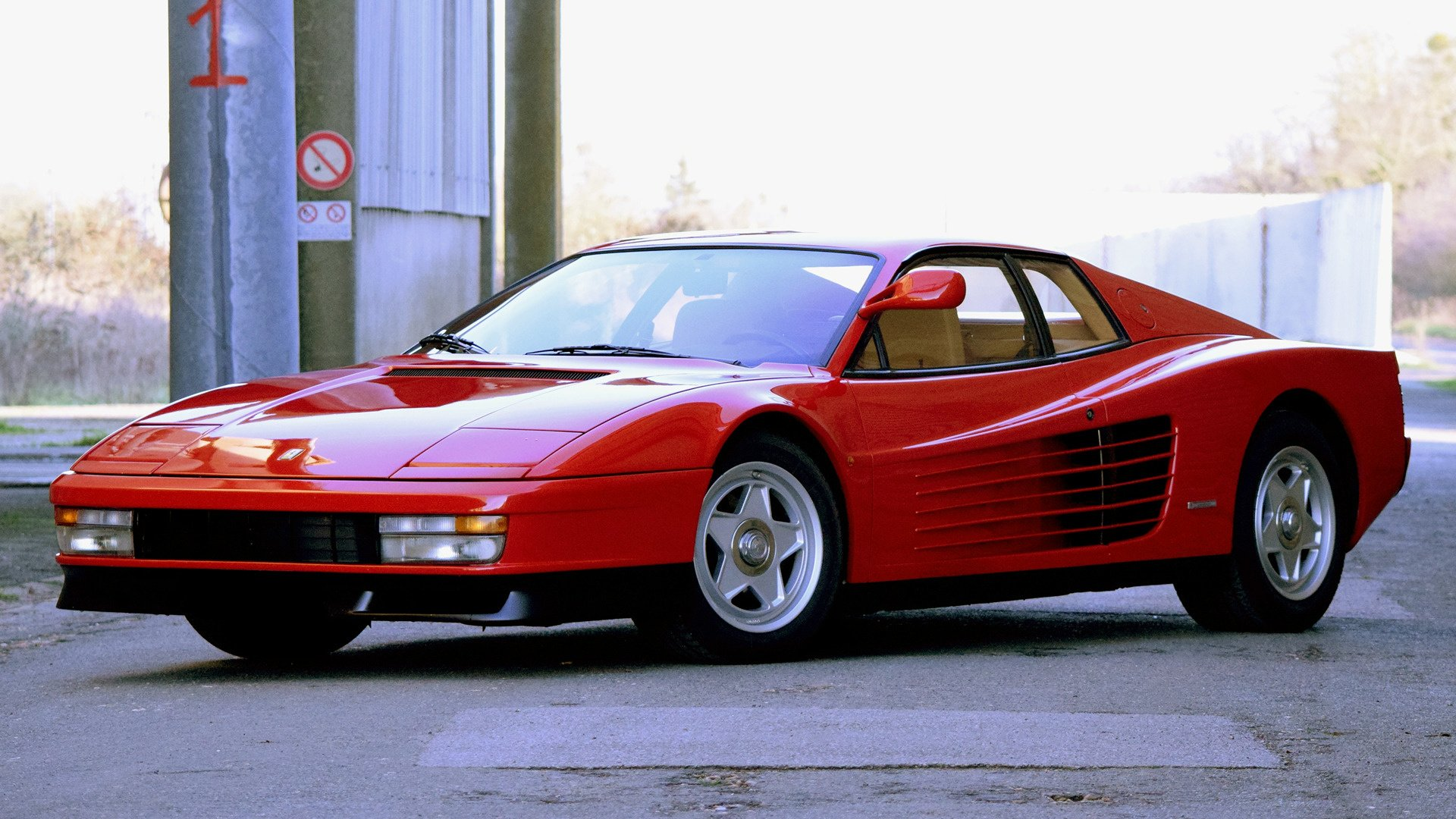 38 Ferrari Testarossa Hd Wallpapers Background Images Wallpaper Abyss Page 2