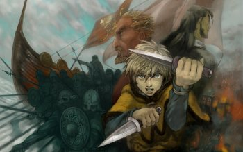 2 Thors Vinland Saga Hd Wallpapers Background Images Wallpaper Abyss