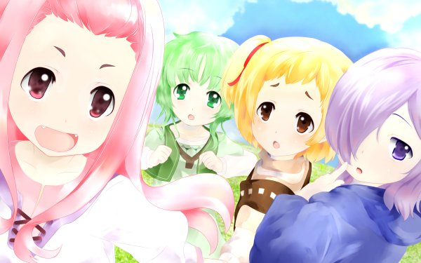 Anime Sukasuka Collon Rin Purgatrio Tiat Siba Igleo Almita Pannibal Nox Katena HD Wallpaper | Background Image