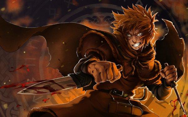 Anime Vinland Saga Thorfinn HD Wallpaper | Background Image